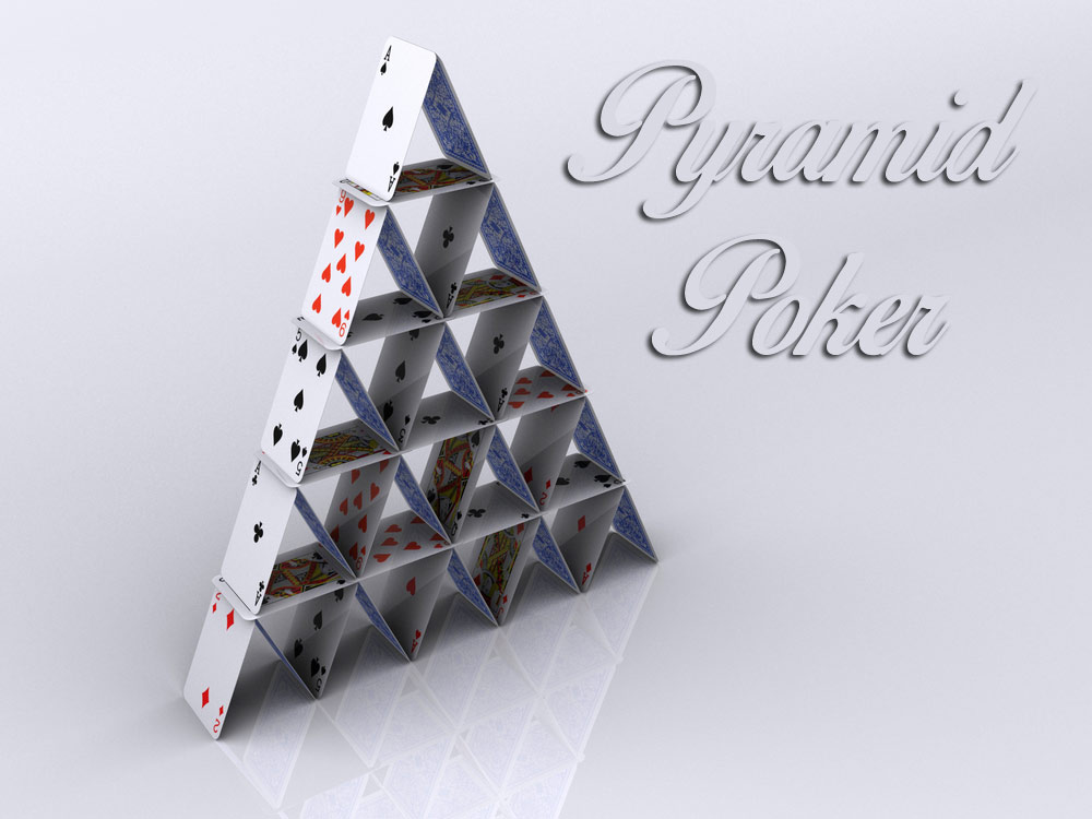 Playing Pyramid Poker